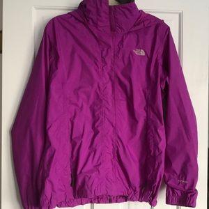 ☂️💦 Purple The North Face raincoat